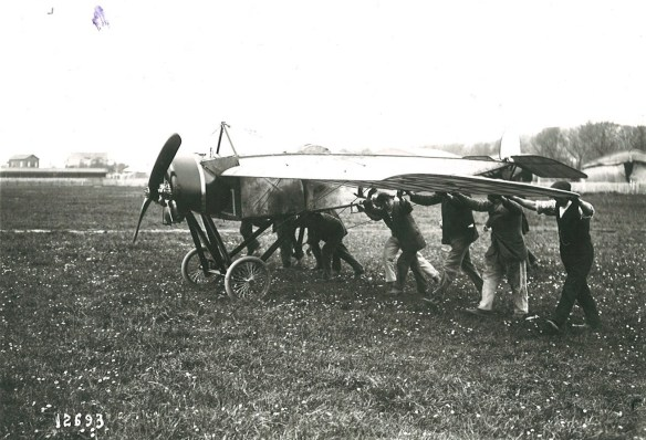 MS utilisé par Brindejonc des Moulinais en 1914