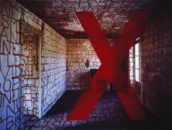 """G.Rousse """"""""NYX""""_ 1991 René Sultra Adago, Paris Collection des Abattoirs Frac Midi-Pyrénées"""