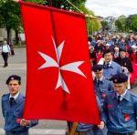 L'emblème de l'ordre de Malte.
